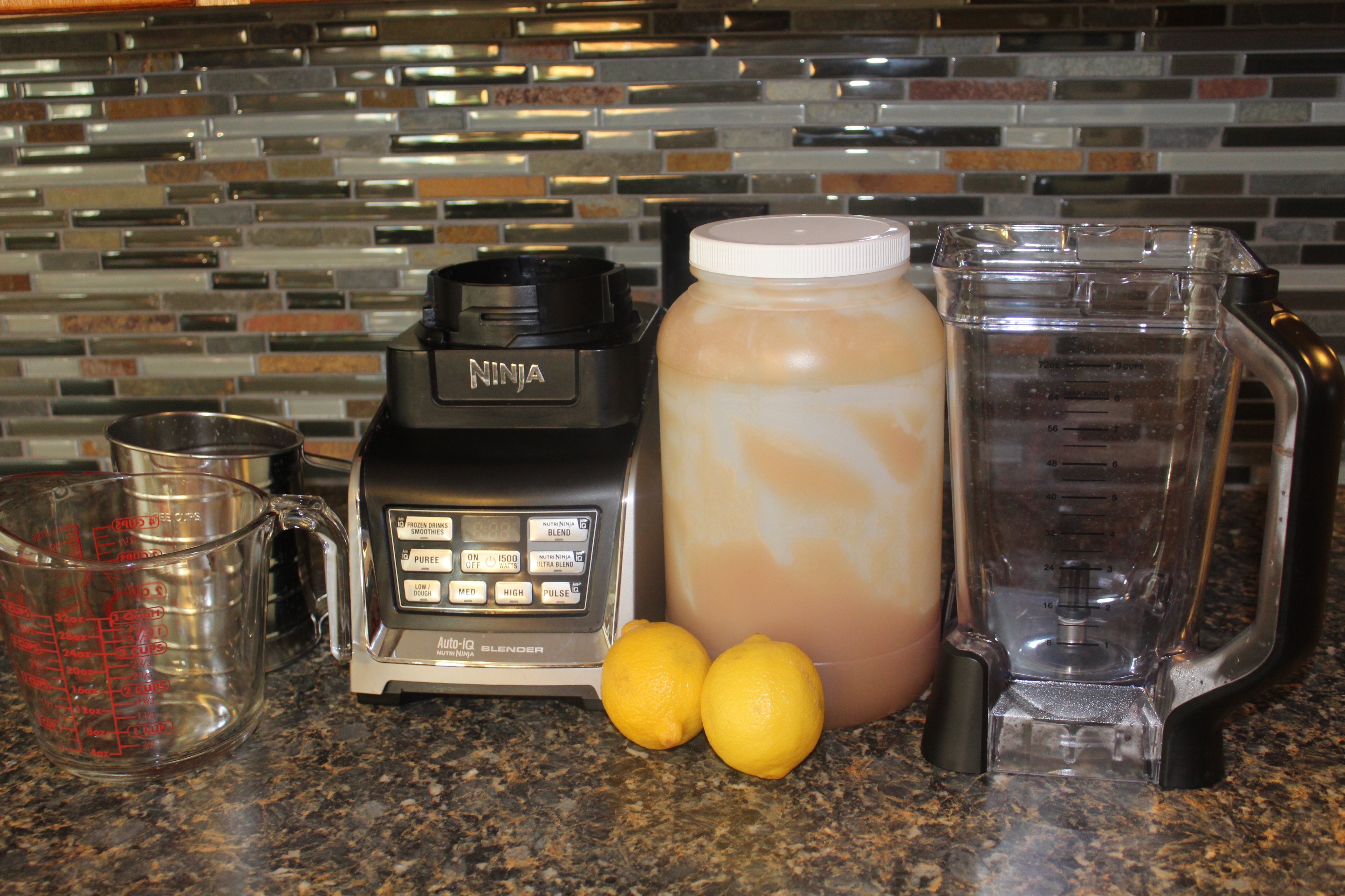 Healthy lemonade