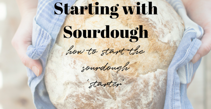 Starting with sourdough | starting the starter