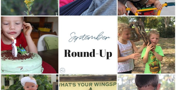 September Round-Up   seasons and a time for rest