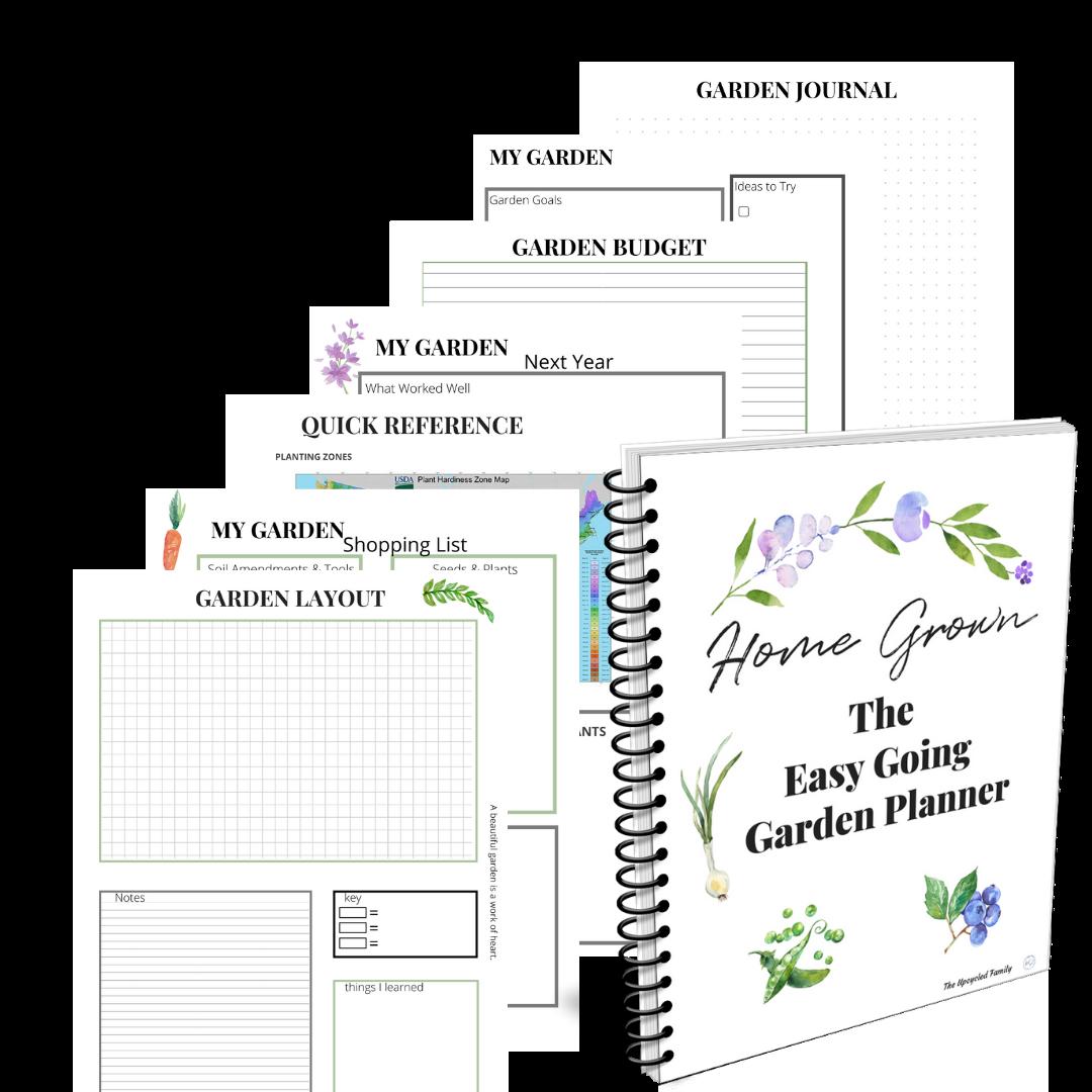 printable garden planner sheets